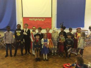 World Book Day dressing up photos