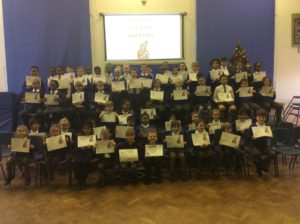 Becket Award Winners December 2018